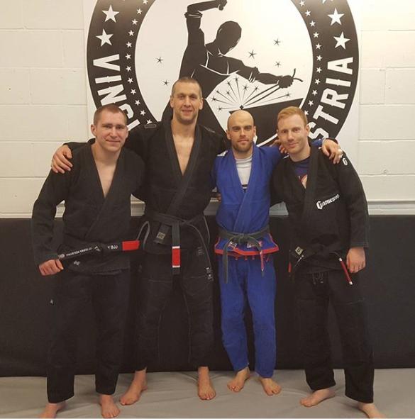Adam Adshead & the Factory BJJ Black Belts
