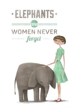 women and elephants