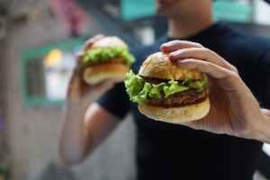 blur bread bun burger