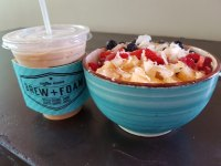 Acai Bowl and Coffee