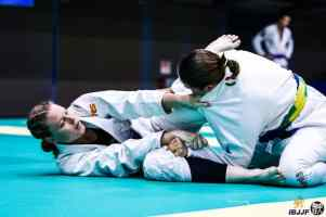 Action Shot from the Asian Open Final