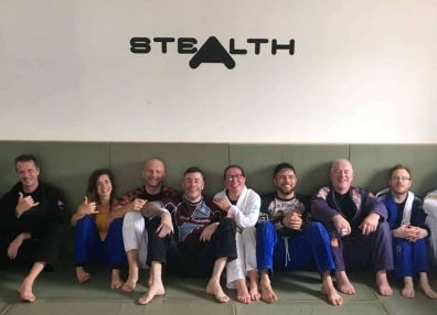 After training group shot Stealth NI
