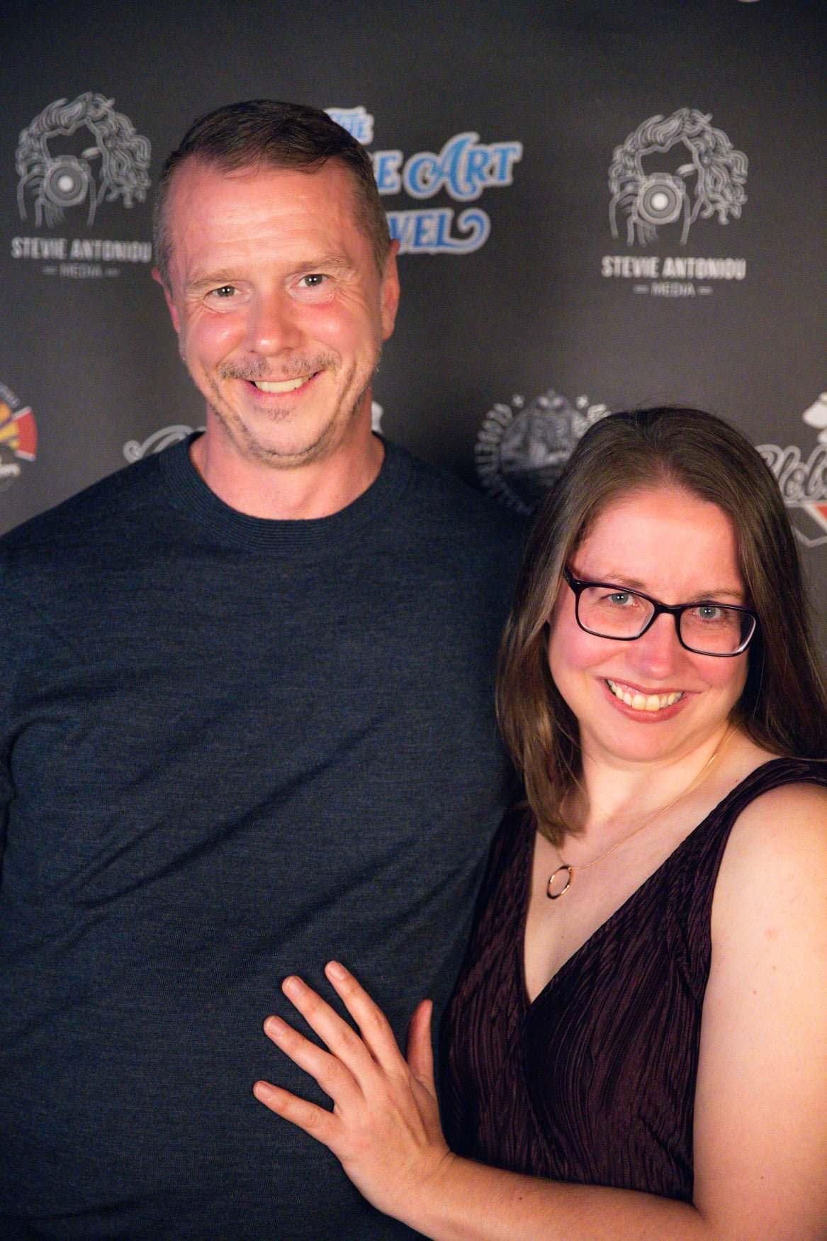 Red Carpet pic of BJJ Minion and Husband